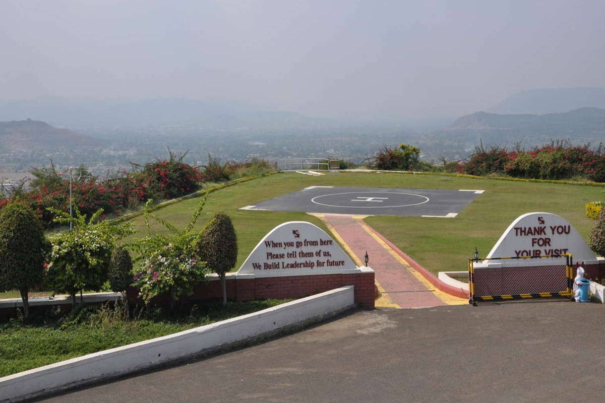 Helipad and Vista Point